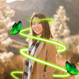 freetoedit neonspiral neonspiraleffect green neon ecneonswirls