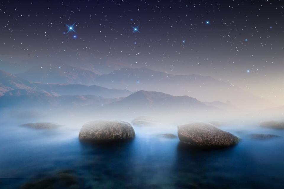 #freetoedit #remix #background #sea #night