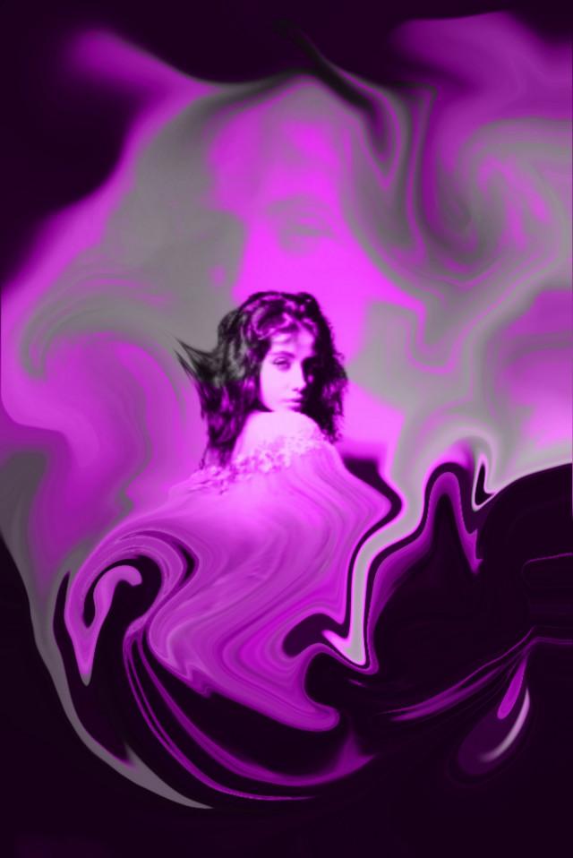 #dreamy #girl #dreamygirl #perpule #black #blacknperpule #beatifulgirl  @picsart