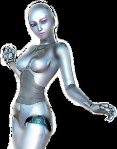 robot cyborg sexy girl woman freetoedit