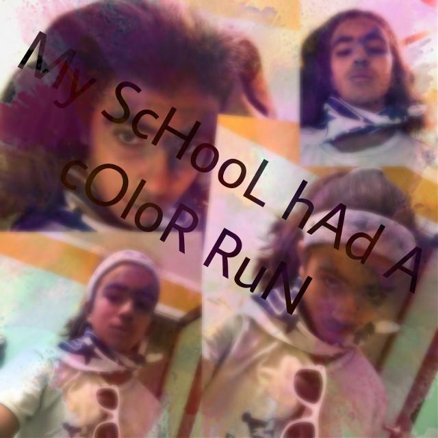 Im a Mess (T ^ T) #color #powder #color #fun #colorpowder