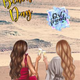 freetoedit beachdays bestfriends bestfriendsforever