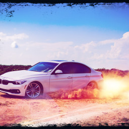 freetoedit car bmw desert drift