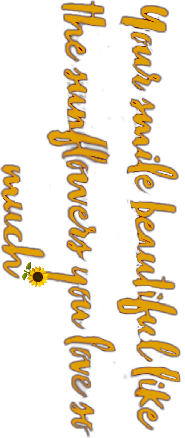 #yellowaesthetic #smile #sunflower #aesthetic #text #iphonemoji  #yoursmile #cute