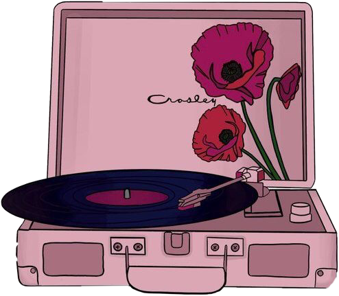 #music #art #aesthetic #vintage #sing #flower #pink #soft #80s #plaque #freetoedit