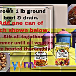 freetoedit recipe yum text list