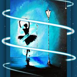freetoedit dance dancing abstract neon ecneonswirls neonswirls