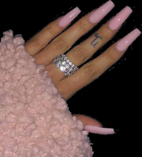 #nails #baddie #nailsaesthetic #baddieaesthetic #pink #pinkaesthetic #pinknails #baddienails #acrylicnails #freetoedit