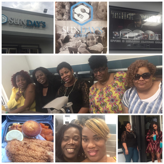 RocThePeace@Trick Daddy Restaurant - SunDay's Eatery, Such Wonderful and Amazing Food, It was worth the wait❤️❤️
