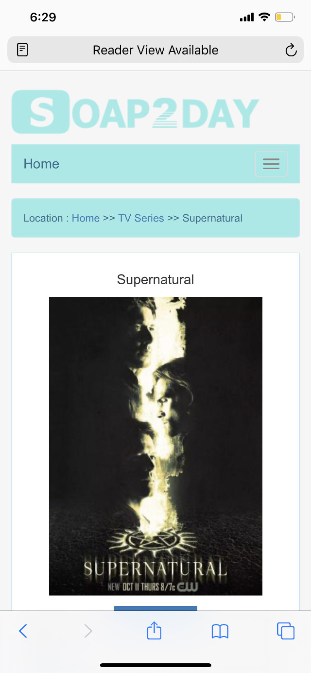 Avaryone go watch this show its called supernatural on soap2day.to