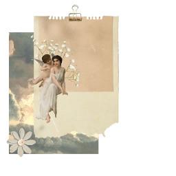 freetoedit angel aesthetic beige angelic