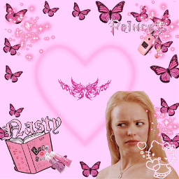 y2k meangirls 2000 pink aesthetic freetoedit