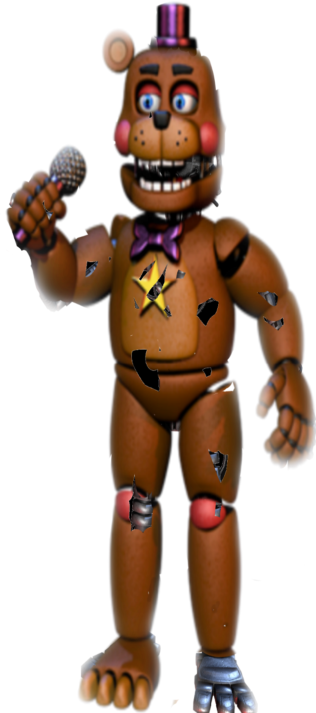 #Fnaf #withered #rockstareverybodywantsyou