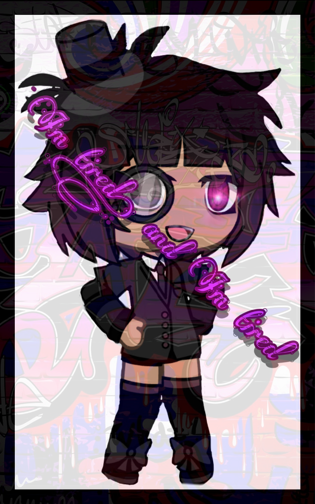 #freetoedit Tired, and im tired. [[Gacha oc]]  #gacha #gachasucks #cute #aesthetic