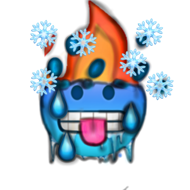 #madefromukraine #emoji Cold+Hot+Fire+Snow