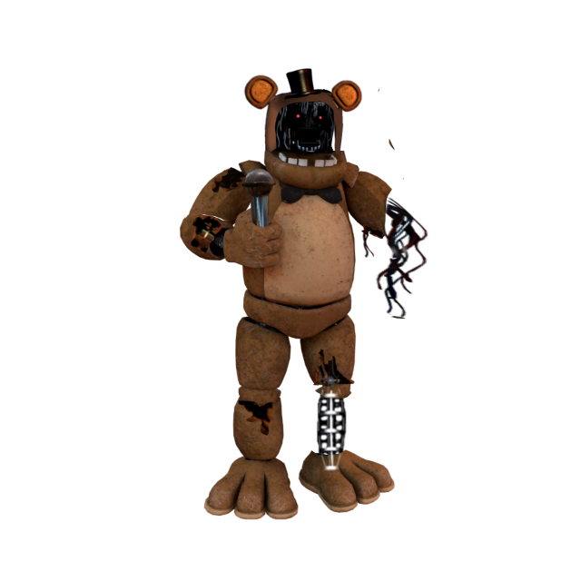 #witheredfreddy