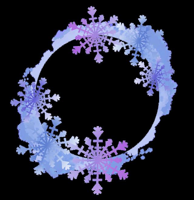 #frame #snowflakeframe #frozen #frozen2 #circleframe #roundframe #snowflakes #freetoedit
