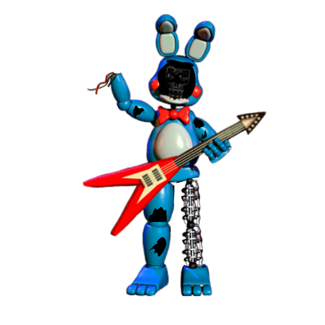 #fivenightsatdroghis Whitered toy bonnie