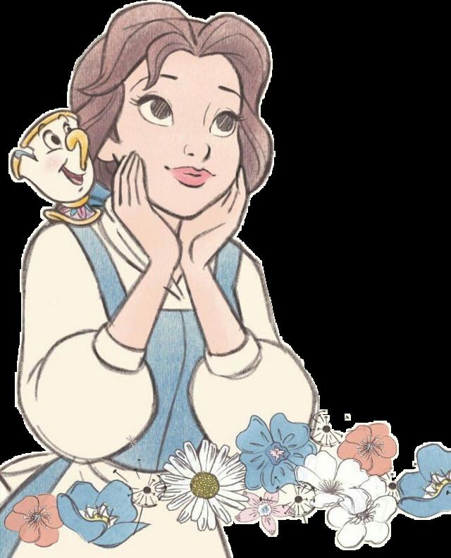 #cartoon #disney #thebeautyandthebeast #labellaelabestia #belle #face #flowers #color #pencil #disegno