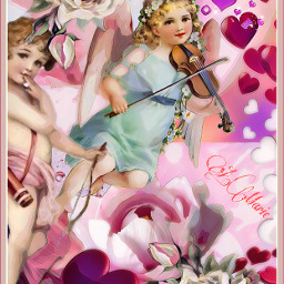 freetoedit valentines cupid wings love