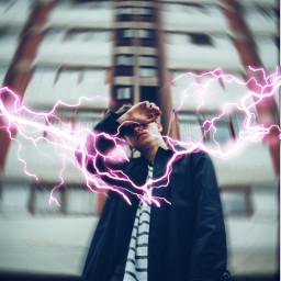 freetoedit urban aesthetic lightning пиксарт