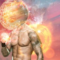 freetoedit fire planet power tattoo