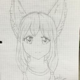 art anime ears animal hybrid