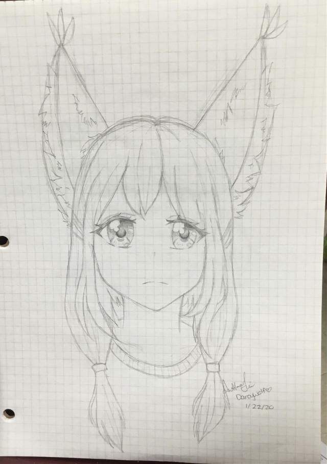 #art #anime #ears #animal #hybrid