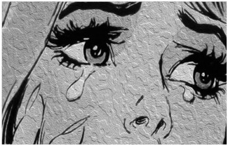 #comic #grey #black #aesthetic #cry #art #freetoedit