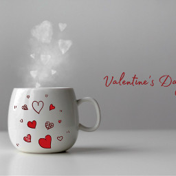 freetoedit cup cupofcoffee coffe valentinesday