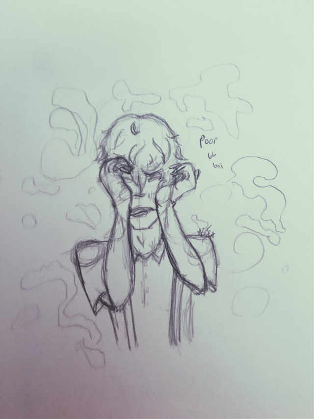 Sorry its blurry, btw this is unfinished, its my sketch for the #hucks700 contest, what do you guys think, should i go digital with it or not? @hvcklebury  ________________________ #sketch #art #aki #sad #bb #bbboy #cute #tears #drawing #pencil #freetoedit