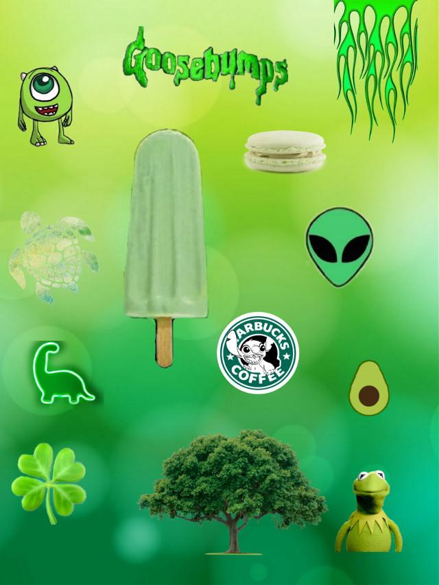 #freetoedit green aesthetic