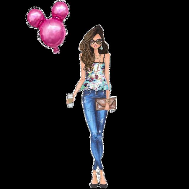 #freetoedit #balloon #girl #fashion