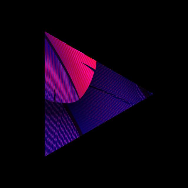 #triangle #feather #geometric