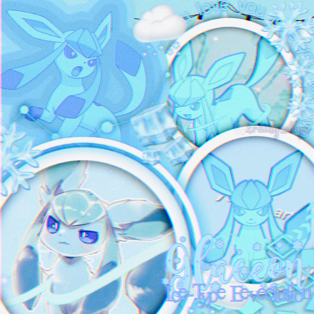 • Edit Request! • . . Character: Glaceon Fandom: Pokémon Colors: Teal, Blue, White For: @cl0wning  . . . Sorry this took a while! I decided to do Glaceon first since it was a bit simpler. School is making me a bit busy. But I hope you like it!  . . . ❄️ Please do not steal or repost! ❄️ . . . - Tags - #pokemon #eeveelution #eeveelutions #eeveelutionsquad #glaceon #icetype #edit #editrequest #editrequests #pokemonedit