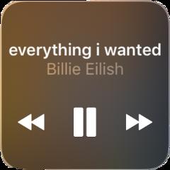 everythingiwanted music billieeilish freetoedit