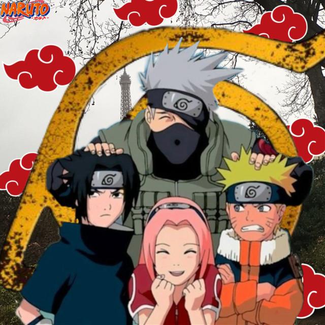 #team7 #naruto #Sakura #Sasuke #Kakaschie #Paries #Eifelturm #konohagakure