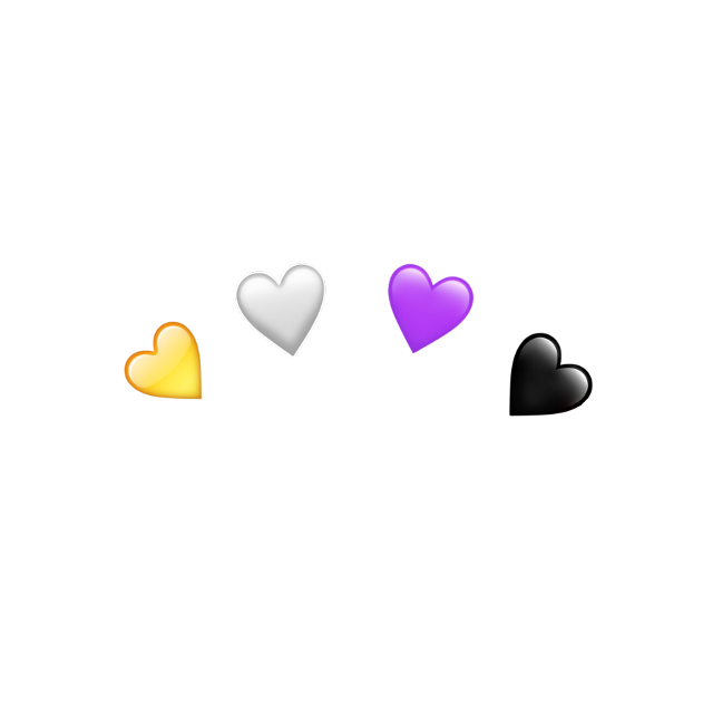 #freetoedit #heartcrown #nonbinary #nb #enby #pride #trans #nonbinaryflag #heart #crown #hearts #lgbt #lgbtq #lgbtq+