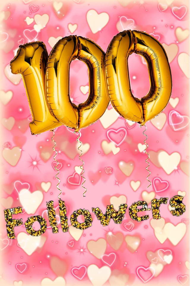 Thank you all SO MUCH for 100 followers🥳 I'll be posting categories of the month from now on #100followers #celebration #thankyou #freetoedit