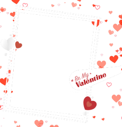 valentinesday hearts frame happyvalentinesday valentine freetoedit