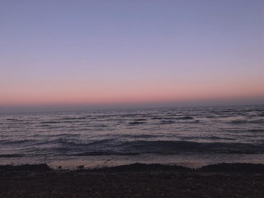#freetoedit #beach #purple #sunset