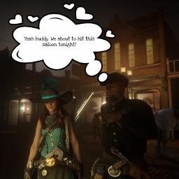 sarcasticazz reddeadredemption2 gamecharacter rdr2online cowgirl