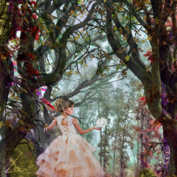 freetoedit myedit madewithpicsart magical forest