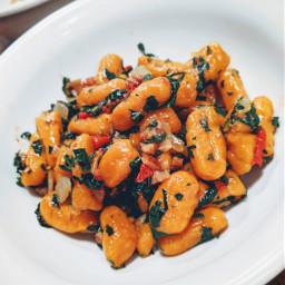 gnocchi kale homemade bowlfood vegan
