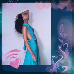 freetoedit girl pink replay glam