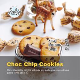 freetoedit bakery post cookies template