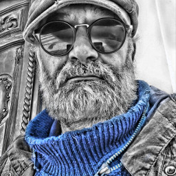 selfie colorsplash photography