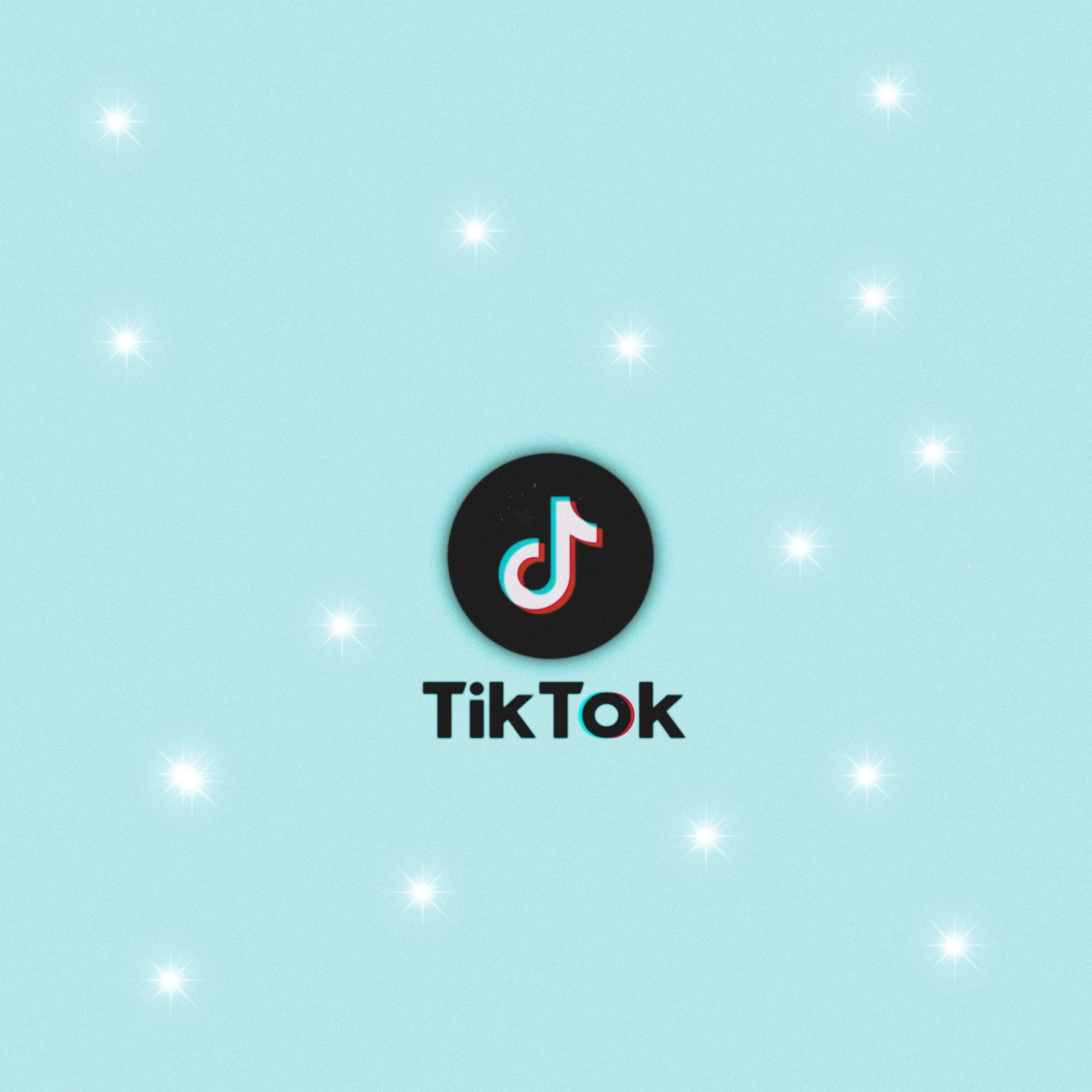 Tiktok App Icon Background Image By Wallpapers