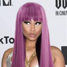 nicki nickiminaj queen pink wig freetoedit
