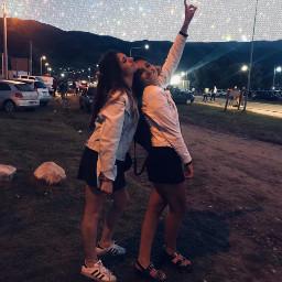 freetoedit glitter glitcheffect sky friends